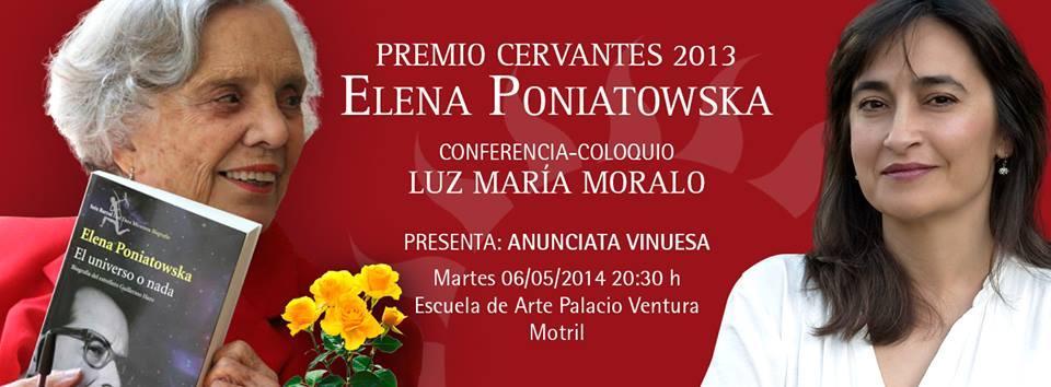 """Charla """"Elena Poniatowska, la voz que aprendió a escuchar"""""""