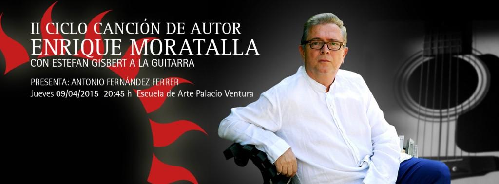 II Ciclo de canción de autor – Enrique Moratalla
