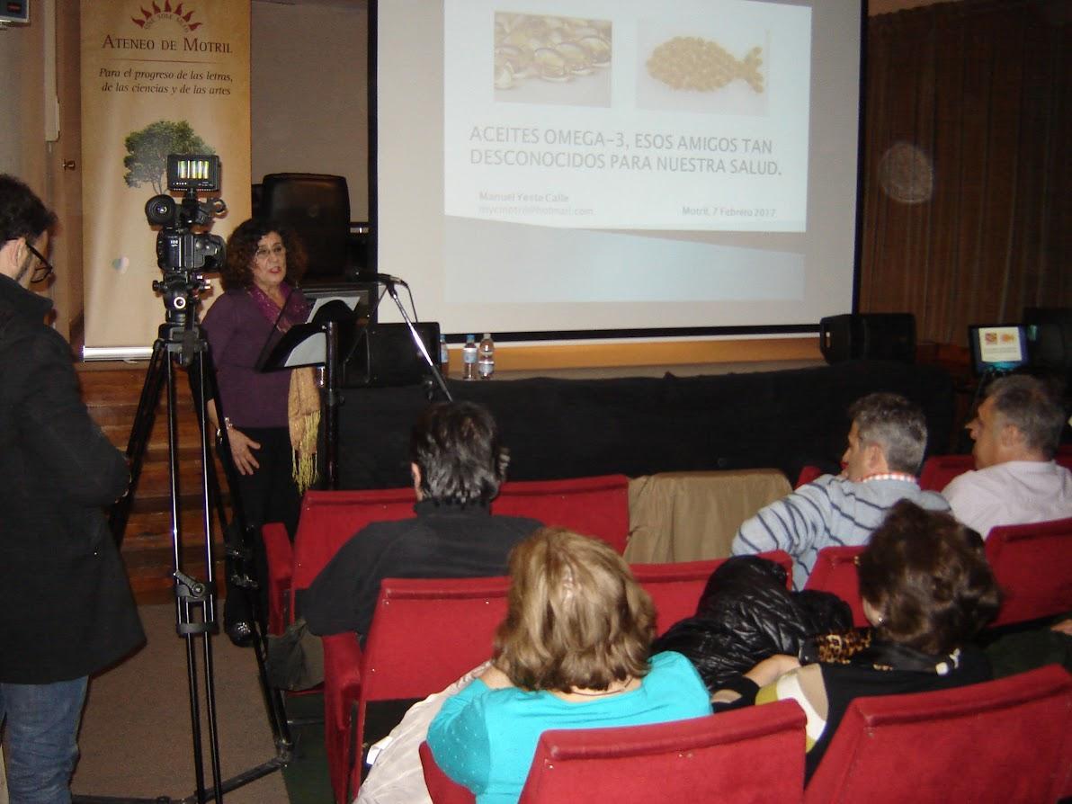 Interesante conferencia sobre los aceites Omega-3