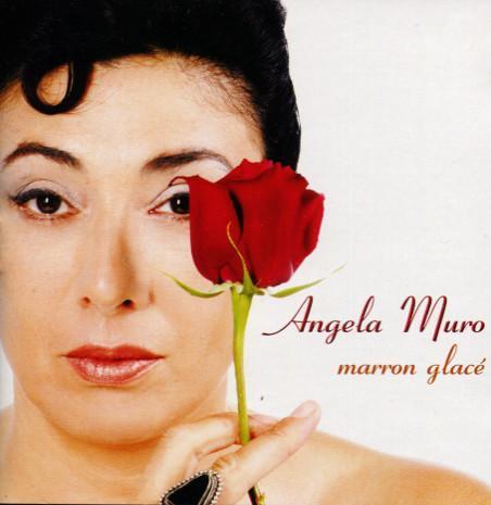 Angela Muro - Portada del disco Marron Glace