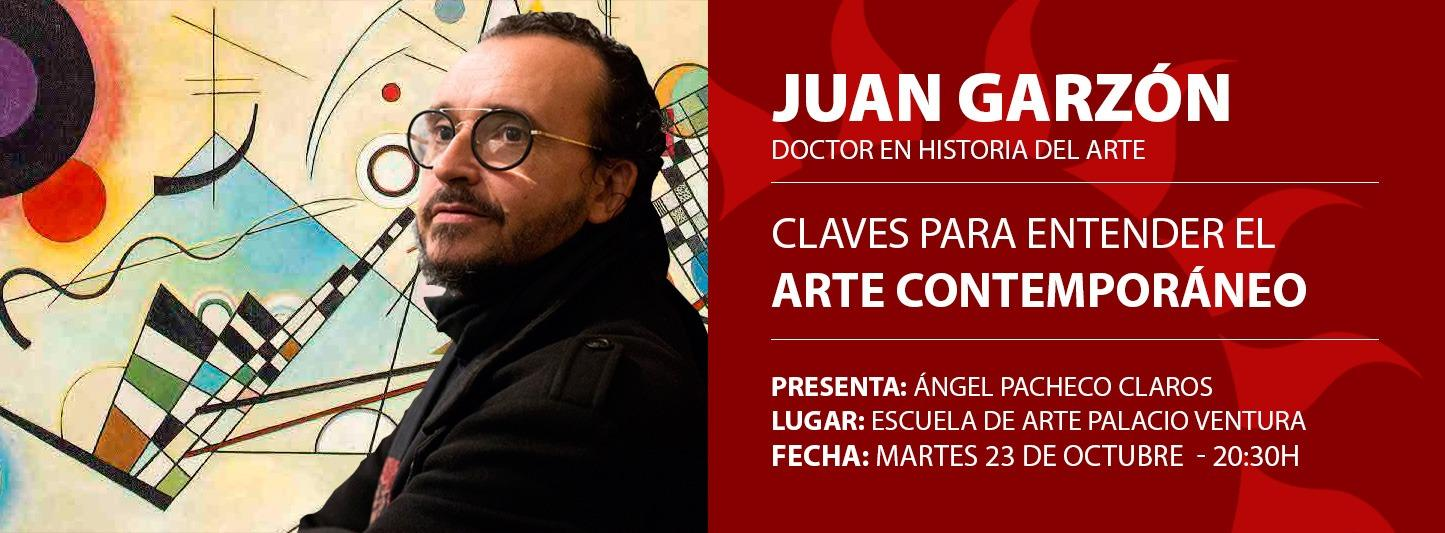 "Conferencia ""CLAVES PARA ENTENDER EL ARTE CONTEMPORÁNEO"""