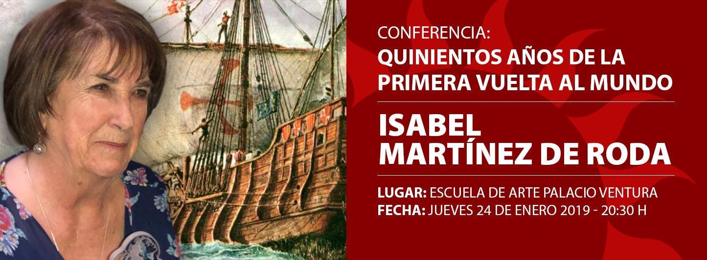 Conferencia «Quinientos años de la primera vuelta al mundo»