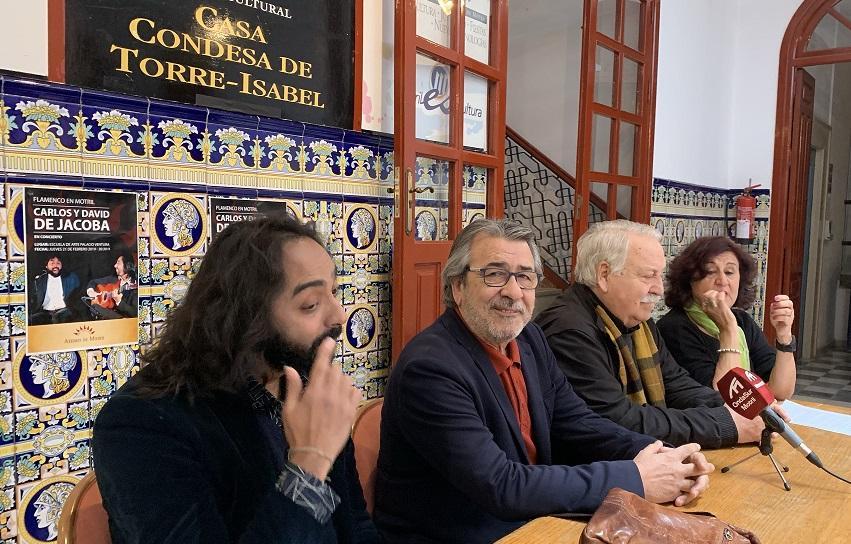 Rueda de prensa de presentación del concierto de Carlos y David de Jacoba