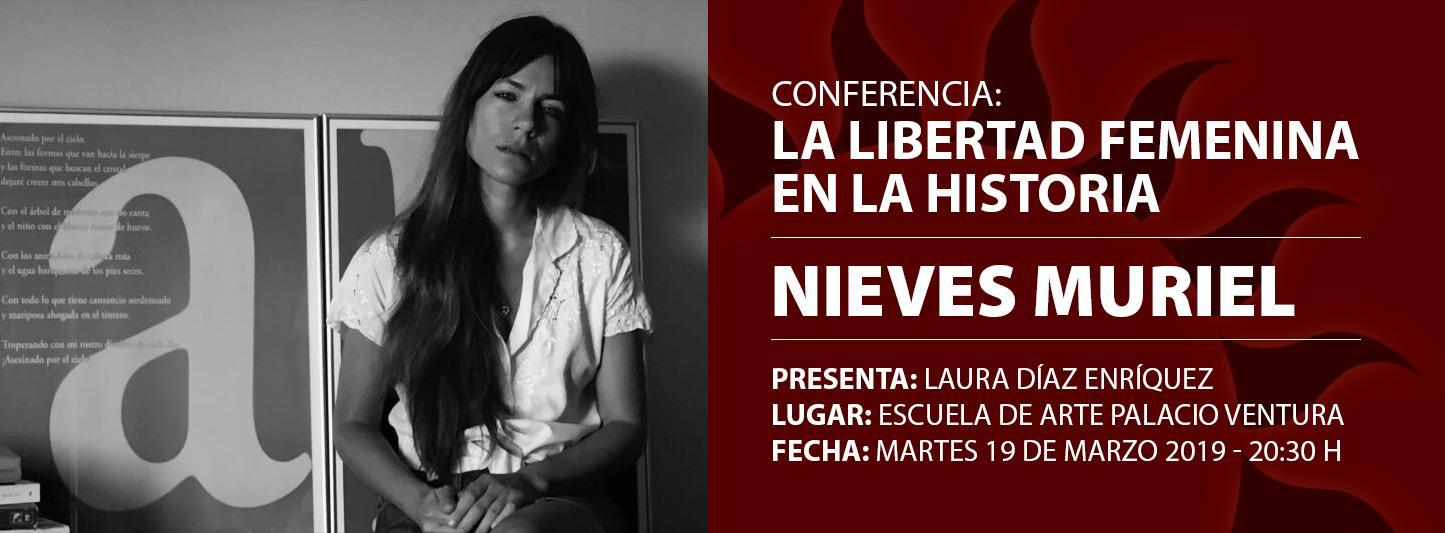 """Conferencia """"La libertad femenina en la historia"""""""