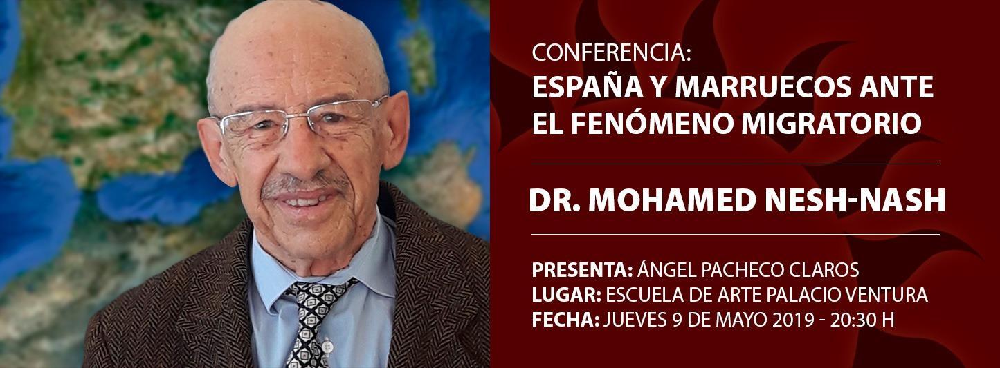 """Conferencia """"España y Marruecos ante el fenómeno migratorio"""""""