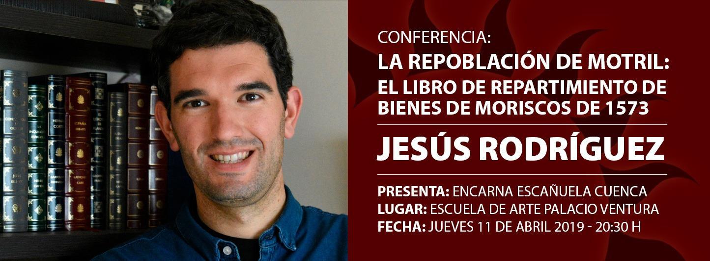 """Conferencia """"La repoblación de Motril: el libro de repartimiento de bienes de moriscos de 1573"""""""