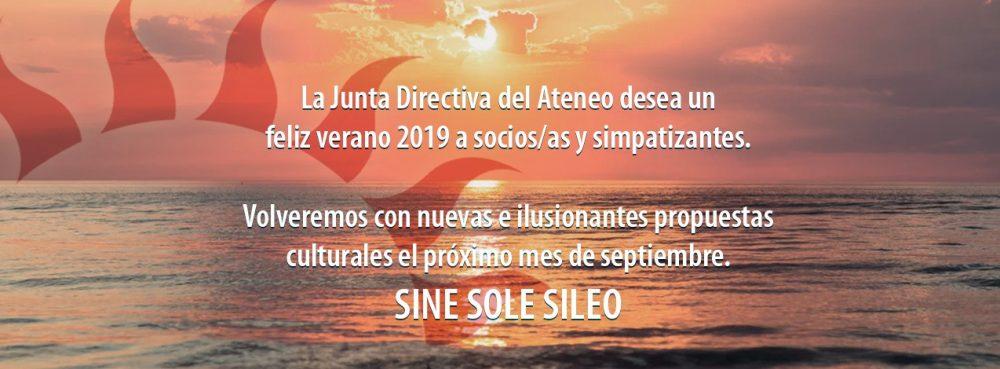 Feliz verano 2019